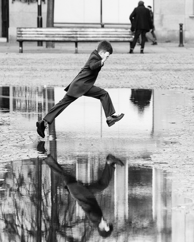 Karl Wood, Jump, Manchester, England.