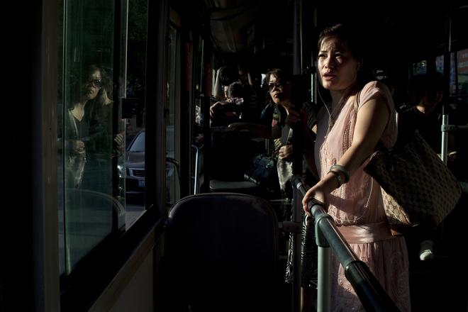 Hao Wu, Woman on Bus.