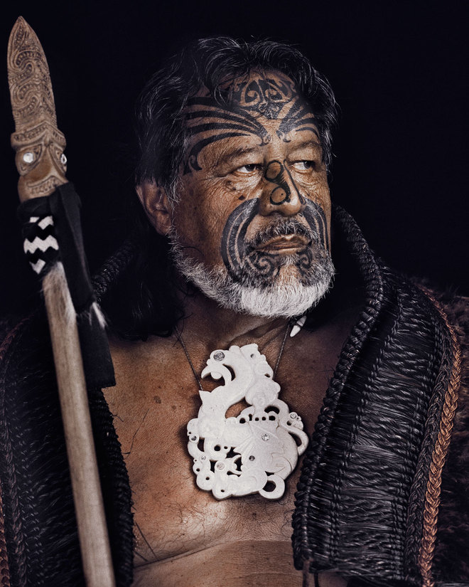 Jimmy Nelson Before They Pass Away Maori Tribesman
