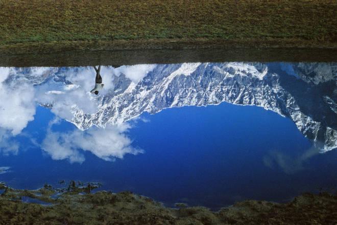 Mallar Sarkar, Trekking through Reflection.