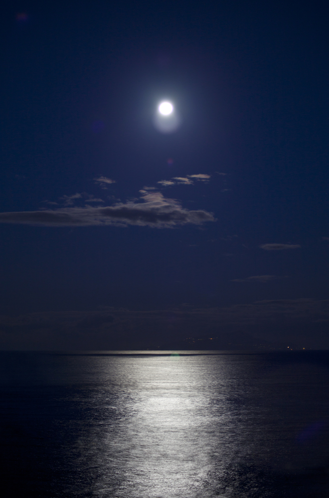 Paul Chapman, Moonlight, Italy,
