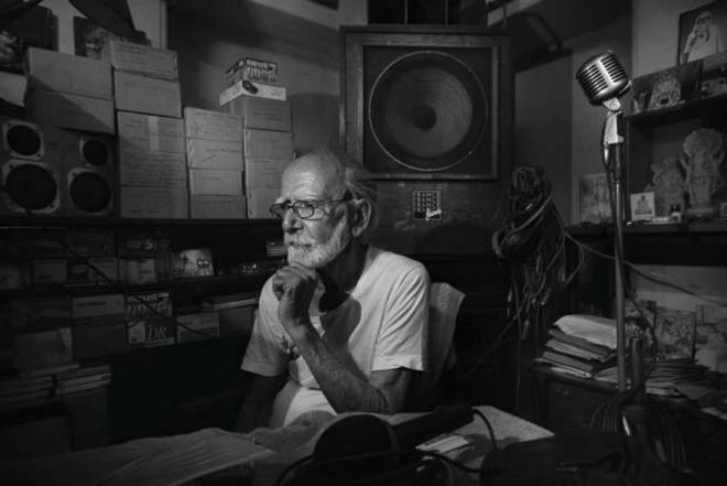 Photograph of Mr Sushil Kumar Chattopadhyay from Kolkata, India taken by Abhijit Chakraborty