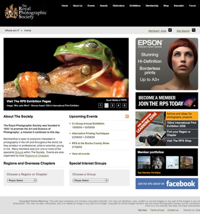 rps webpage