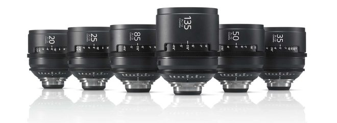 Sony PL Mount Prime Lenses
